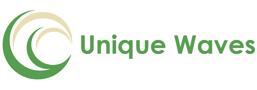 unique waves logo